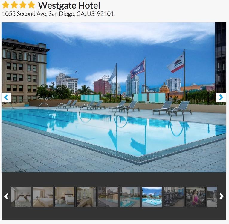 Westgate Hotel San Diego
